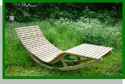 Noviteiten tuin for Ligstoel buiten