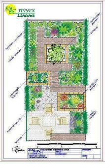 Tuin ontwerpen for Plattegrond tuin maken
