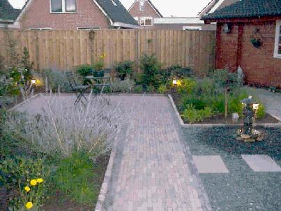 Tuin ontwerpen - Foto buitenkant terras ...